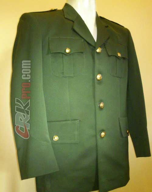 Pakaian Jas Militer Pakaian Jas Tentara