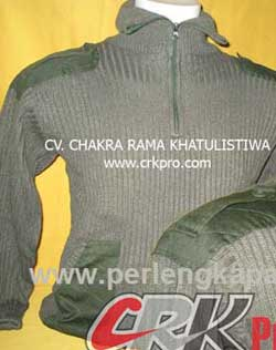 Sweater rajut Tentara